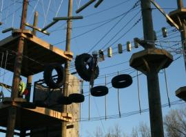 Popular Stuttgart's High ropes park!
