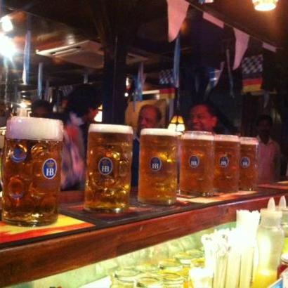 Taste all kinds of German beer!