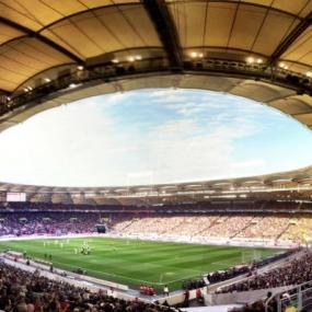 Experience unique football stadium tour in Stuttgart