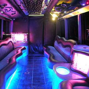 Enjoy ride in trendy party bus